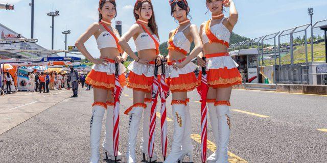 2021R'Qs Racing GIRLs 斉藤 まなみさん 高勢 ゆなさん 吉田 あいさん 蒼井 じゅのさん